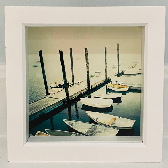 Docked- Fine Art Print shadow box frame