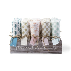 Coastal Floursack Towels