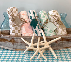 Coastal Flour Sack Towels