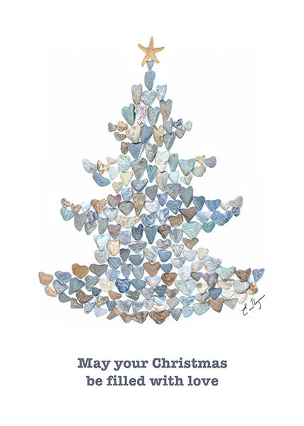 Christmas greeting card by Love Rocks Me