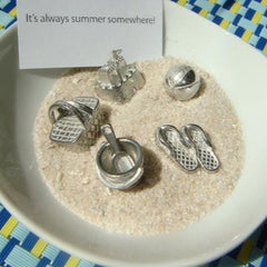 Bag of Summer Pewter Charms