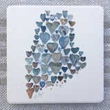 Love Rocks Me Stone Coasters