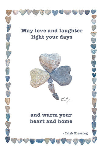 Irish Blessing card by Love Rocks Me