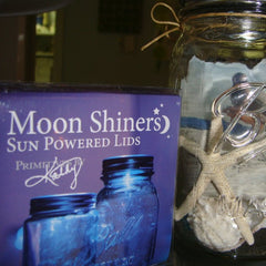 Moon Shiner, Solar Jar Lid Light