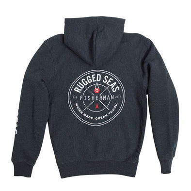 Rugged Seas Hoodie - Beach Grass Shop