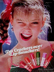 Bonne Bell Lip Smackers Ad 1983