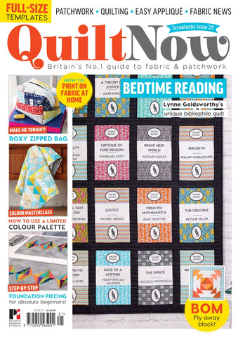 Quilt Now Magazine - Issue 21 - March 2016