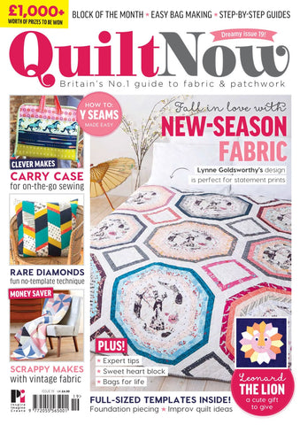 Quilt Now Magazine - Issue 19 - January 2016