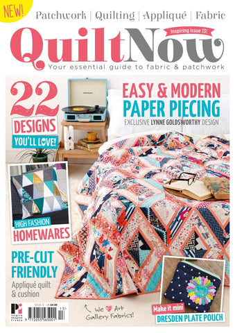 Quilt Now Magazine - Issue 13 - July 2015