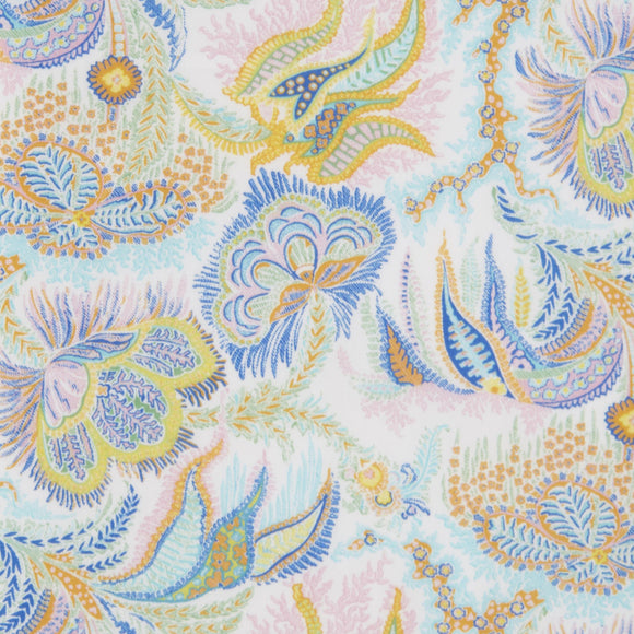 Paisley Corals Tana Lawn in C
