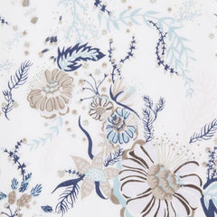 Aquatic Bloom in Neutral from Liberty Tana Lawn by Liberty House Designers  for Liberty