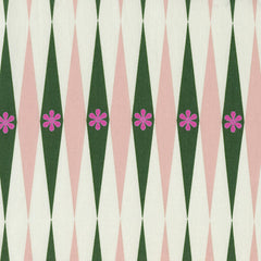 Backgammonish in Green Natural from Playful by Melody Miller for Cotton+Steel