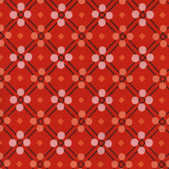 Picnic Blanket in Red from Picnic by Melody Miller for Cotton Steel