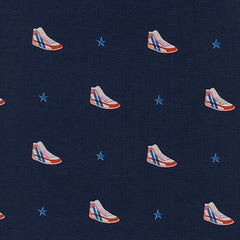 Kicks Little Kicks in Navy from Kicks by Melody Miller for Cotton+Steel
