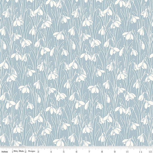 04775656T The Hesketh House Collection Hesketh in Pale Blue from Liberty of London at Pink Castle Fabrics