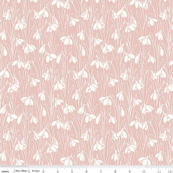 04775656Y The Hesketh House Collection Hesketh in Pink from Liberty of London at Pink Castle Fabrics