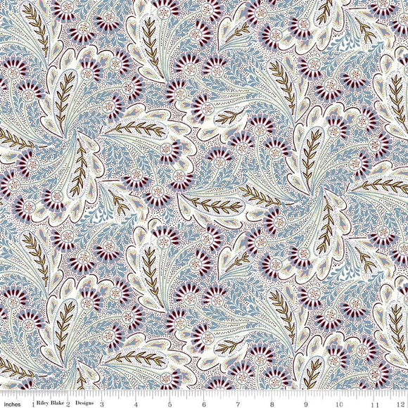 04775673Z The Summer House Collection Feather Dance in Lavender by Liberty of London for Riley Blake Designs at Pink Castle Fabrics