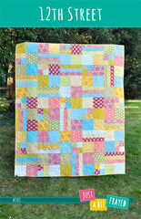 12th Street - Printed Quilt Pattern from Modern Country by Just A Bit Frayed
