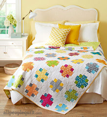 Easy Addition Quilt Kit - Quilts and More from Pie Making Day by Brenda Ratliff for RJR