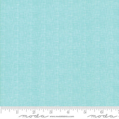 Lulu Lane Wideback Netting in Turquoise from Lulu Lane by Little Miss Shabby for Moda