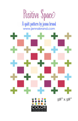 Positive Space - PDF Quilt Pattern