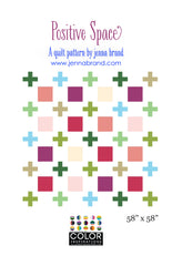 Positive Space - PDF Quilt Pattern from Color Inspirations Club by Jenna Brand