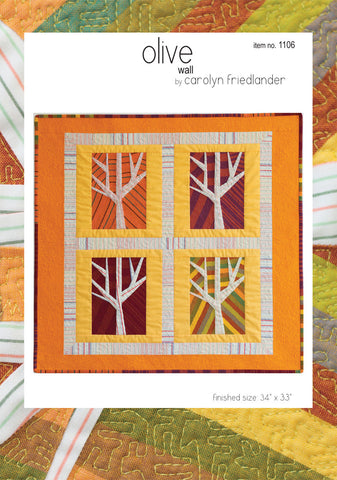 Olive Wall Quilt – Paper Quilt Pattern
