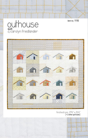 Outhouse – Paper Quilt Pattern