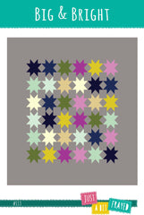 Big & Bright - PDF Quilt Pattern from Color Inspirations Club by Just A Bit Frayed