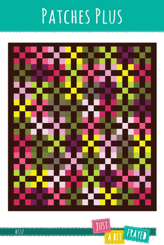 Patches Plus - Printed Quilt Pattern