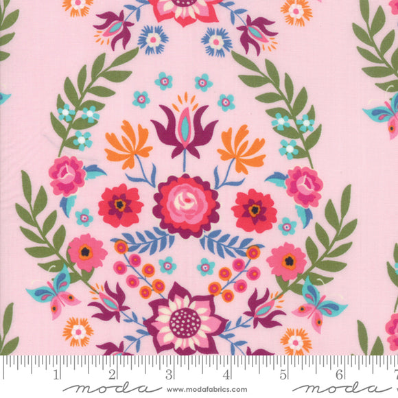 11820 12 Rosa Rosa in Pink by Crystal Manning for Moda from Pink Castle Fabrics