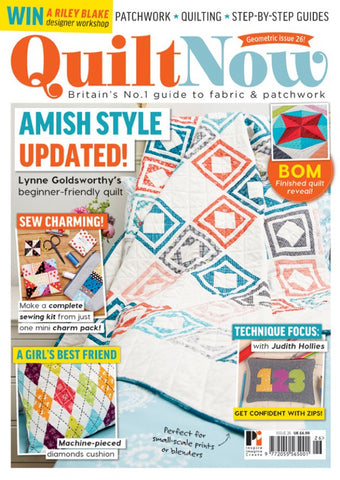 Quilt Now Magazine - Issue 26 - July 2016