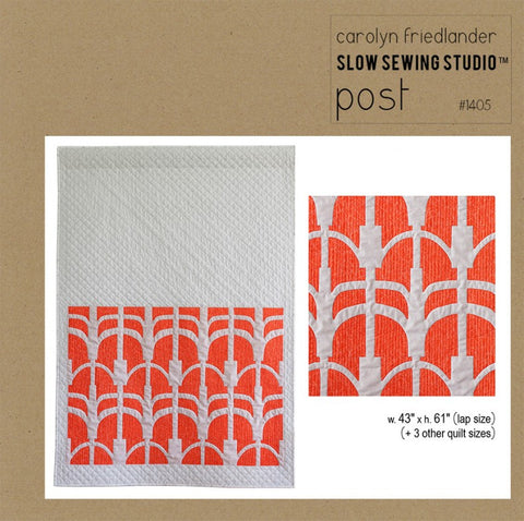 Post – Paper Quilt Pattern