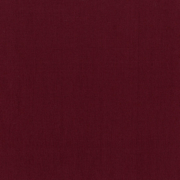 Cotton Supreme Solid in Bordeaux