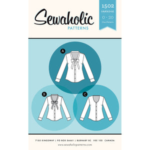 Oakridge Blouse - Paper Apparel Pattern