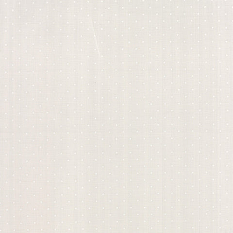 Modern Background Pindot in White on Fog