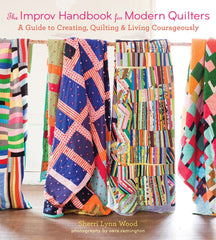The Improv Handbook for Modern Quilters from Cozy Christmas by Sheri Lynn Wood for Lucky Spool