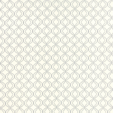 Ever After Quaterfoil Lattice in Ivory