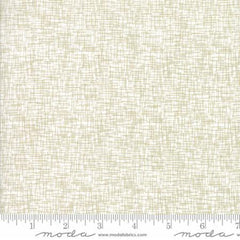 Modern BG Luster Metallic Basic Grid in White from Modern Background Luster by Zen Chic for Moda