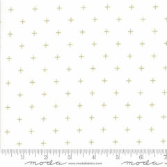 Modern BG Luster Metallic X's in White from Modern Background Luster by Zen Chic for Moda