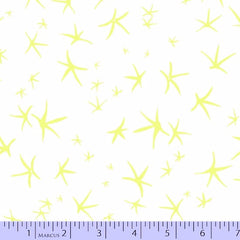 Light Work Starlights in Yellow from Light Work by Victoria Findlay Wolfe for Marcus Fabrics