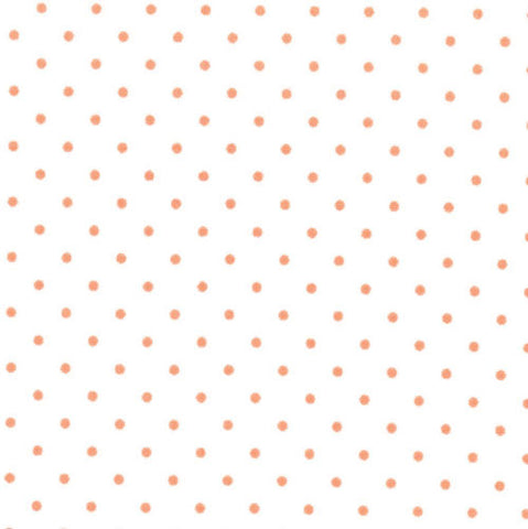 Essential Dots in White and Tangerine