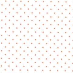 Essential Dots in White and Tangerine from Intermix Basics by Moda House Designers  for Moda