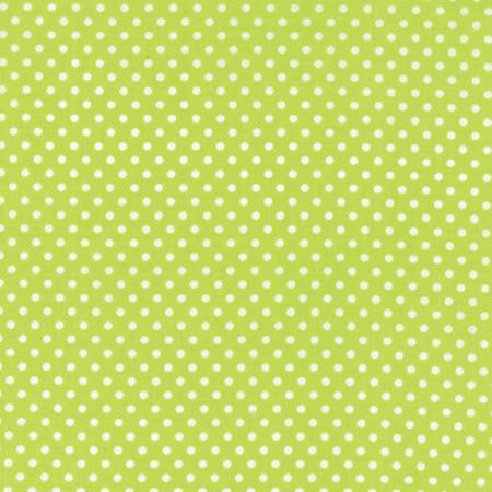 Small Dots in Summer Lime