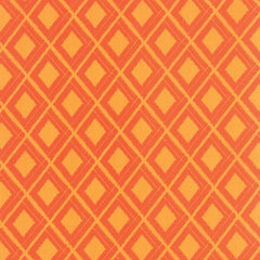 Simply Colorful Ikat Diamond in Orange from Simply Colorful by V and Co. for Moda