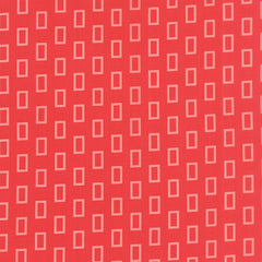Simply Colorful 2 Geometric Frames in Red from Simply Colorful 2 by V and Co. for Moda