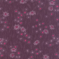 Simply Colorful 2 Wildflower in Plum from Simply Colorful 2 by V and Co. for Moda