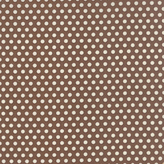 30s Playtime Dot in Cocoa by Chloe's Closet for Moda