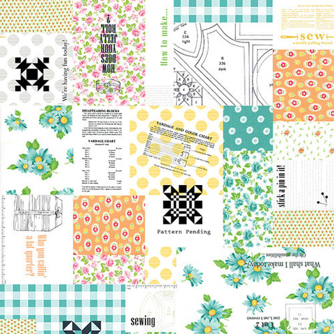 Sew & Sew Patchwork in Fruity