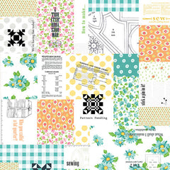 Sew & Sew Patchwork in Fruity from Sew & Sew by Chloe's Closet for Moda